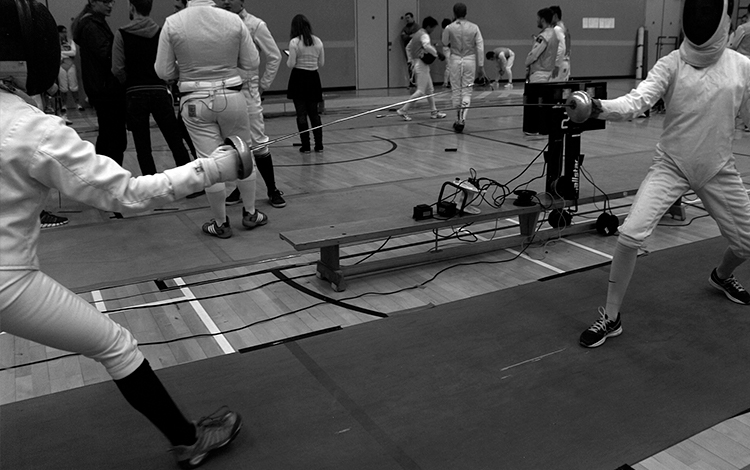 My Erasmus experience. Fencing tournament